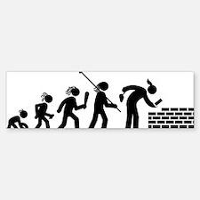 Bricklayer-AAH1 Sticker (Bumper)