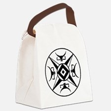 Protective Horn symbol Canvas Lunch Bag