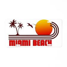 Miami Beach Florida Aluminum License Plate