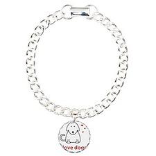 I Love Dogs Bracelet