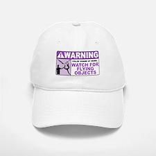 Flying Objects, Purple Baseball Baseball Cap