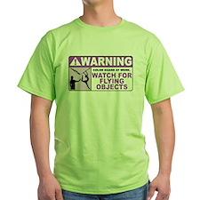 Flying Objects, Purple T-Shirt