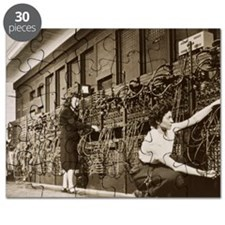 ENIAC, the second electronic calculator Puzzle