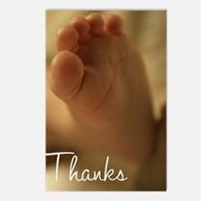 Baby Gift Thank You Card Postcards (Package of 8)