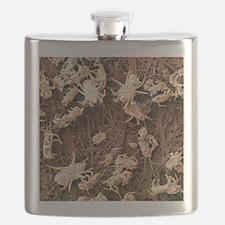 Dust mites, SEM Flask