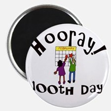 100th Day Calendar Magnet