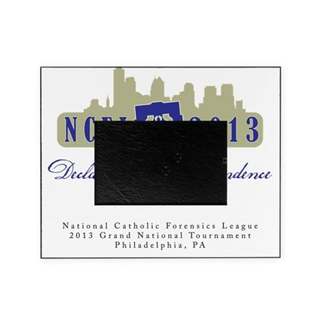 NCFL 2013 Logo with text Picture Frame
