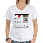 HAMSter Women's V-Neck T-Shirt