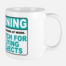 Flying Objects, Teal Mug