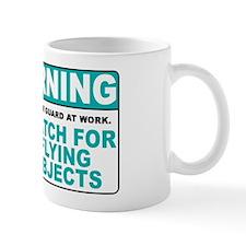 Flying Objects, Teal Mug