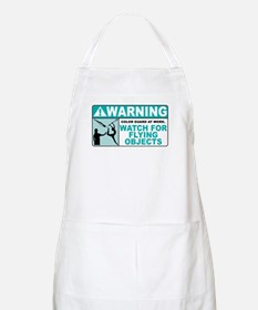 Flying Objects, Teal BBQ Apron
