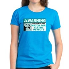 Flying Objects, Teal Tee