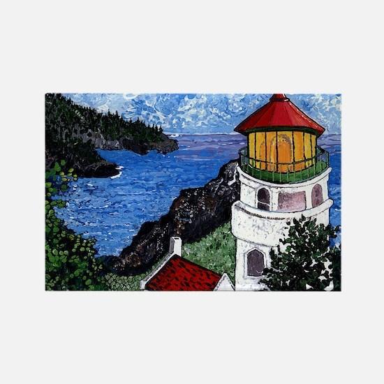 Heceta Head Lighthouse, Oregon Rectangle Magnet