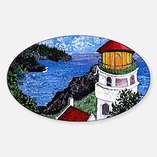 Heceta Head Lighthouse, Oregon Sticker (Oval)