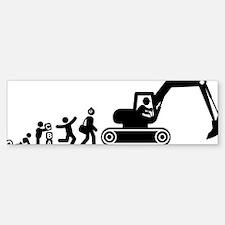 Excavator-AAG1 Bumper Bumper Sticker