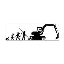 Excavator-AAH1 Car Magnet 10 x 3