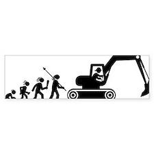 Excavator-AAH1 Bumper Sticker