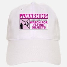 Flying Objects, Pink Baseball Baseball Cap