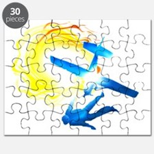 Airplane Exit Under The Sun Puzzle