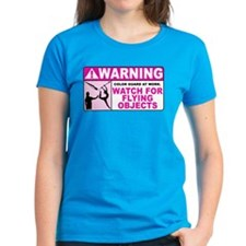 Flying Objects, Pink Tee