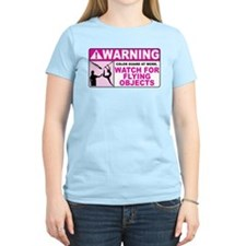 Flying Objects, Pink T-Shirt