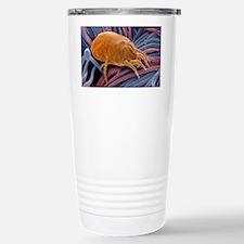 Dust mite, SEM Stainless Steel Travel Mug