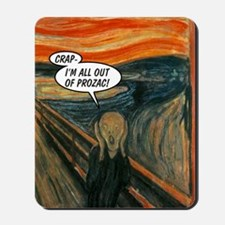 2603A-THESCREAM-FRONT Mousepad