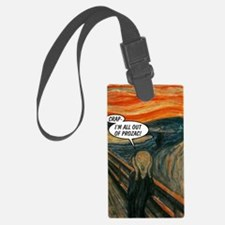 2603A-THESCREAM-FRONT Luggage Tag