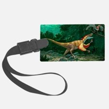 Feathered dinosaurs Luggage Tag