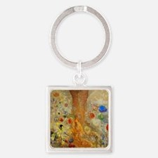 Odilon Redon Buddha In His Youth Square Keychain
