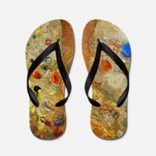 Odilon Redon Buddha In His Youth Flip Flops
