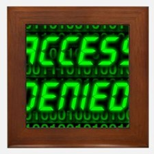 Electronic security Framed Tile