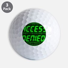 Electronic security Golf Ball