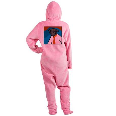 RENÉ Footed Pajamas