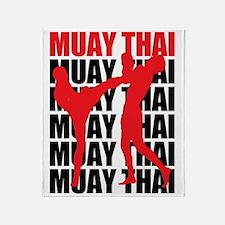 Muay Thai Throw Blanket