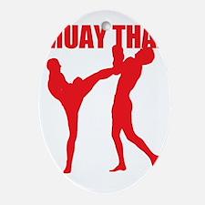 Muay Thai Oval Ornament