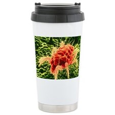 False-colour SEM of Tet Travel Mug