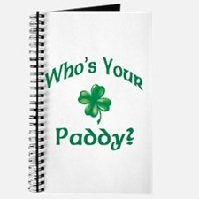 Who's Your Paddy? Journal