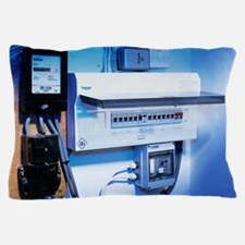 Electricity meter and fuse boxes Pillow Case