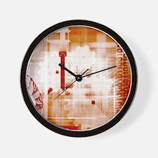 Evolution of technology Wall Clock