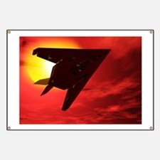 F117a Nighthawk stealth fighter Banner