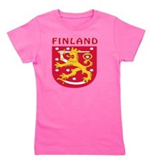 Finland coat of arms Girl's Tee