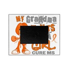 D Grandma Fights Like Girl MS 42.9 Picture Frame