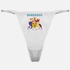 Barbados coat of arms Classic Thong