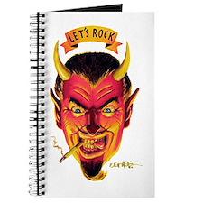 Lets Rock Retro Devil Journal
