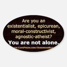 Are You an EEMCAA? Sticker (Oval)