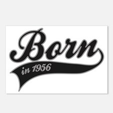 Born in 1956 - Birthday Postcards (Package of 8)
