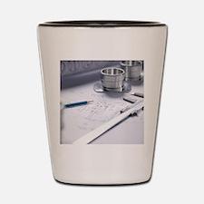 Engineering equipment Shot Glass