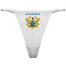 Ghana coat of arms Classic Thong
