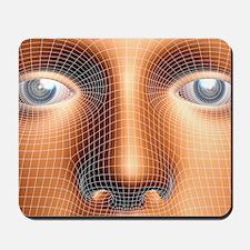 Face biometrics Mousepad